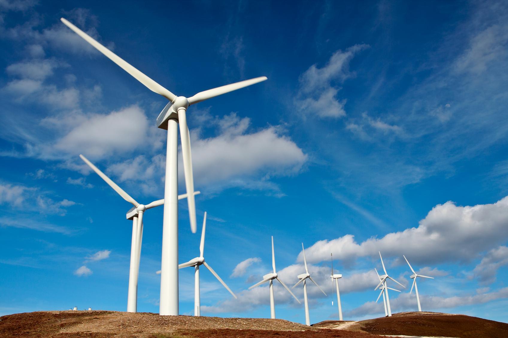 Impianto eolico - Wind turbines farm